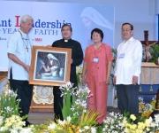Awarding of Token of Appreciation to Bishop Pabillo